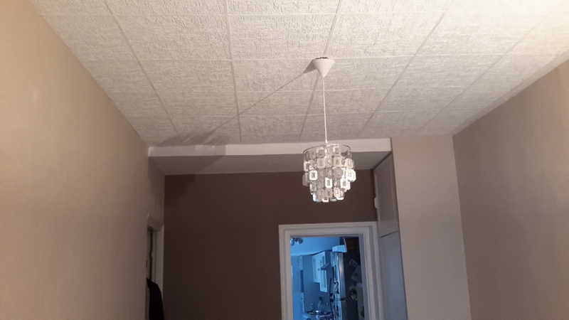 Plafond tendu int rieur design nos r alisations dans l for Plafond renovation